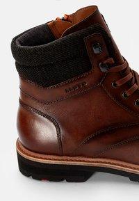 Lloyd - FERNANDO - Lace-up ankle boots - cognac/anthrazit - 5