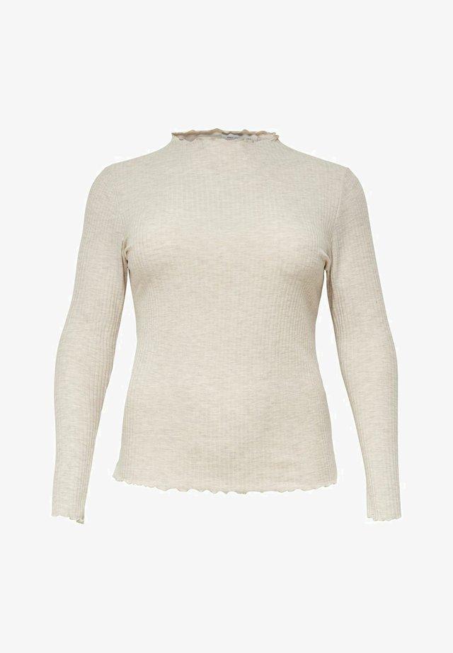 CURVY - Sweter - beige