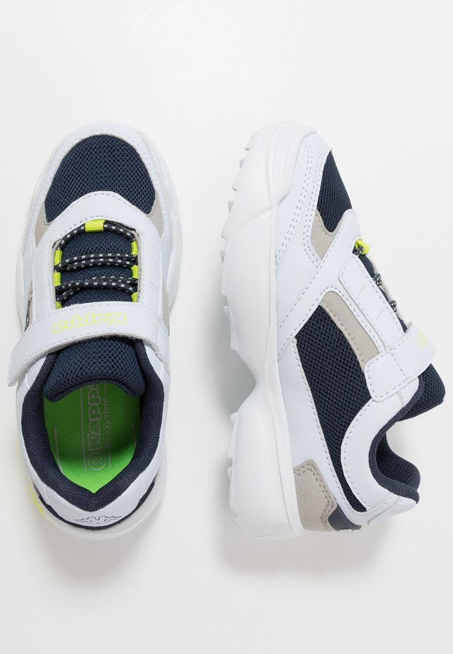 KRYPTON - Scarpe da fitness - white/navy