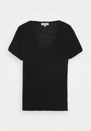 PITTA - Basic T-shirt - black