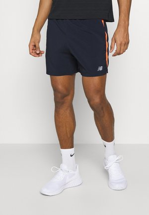 ACCELERATE - Sports shorts - blue/orange