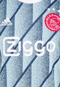 adidas Performance - AJAX AMSTERDAM AEROREADY FOOTBALL - Club wear - ice blue - 2