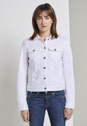 JACKEN & JACKETS JEANSJACKE - Denim jacket - white