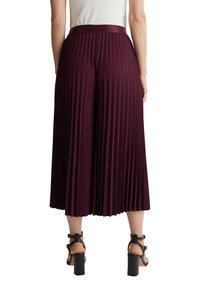Esprit Collection - CULOTTE - Trousers - bordeaux red - 6