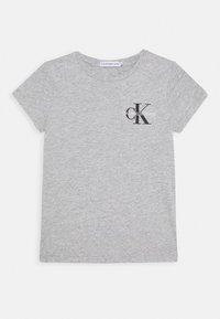 Calvin Klein Jeans - CHEST MONOGRAM - T-Shirt basic - grey - 0