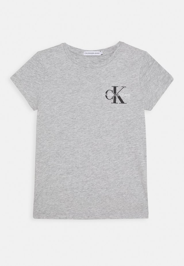 CHEST MONOGRAM - Printtipaita - grey