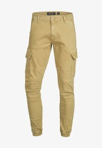 INDICODE JEANS - AUGUST - Pantaloni cargo - light brown - 4