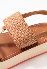 GANT - MIDVILLE  - Platform sandals - cognac/coral - 2
