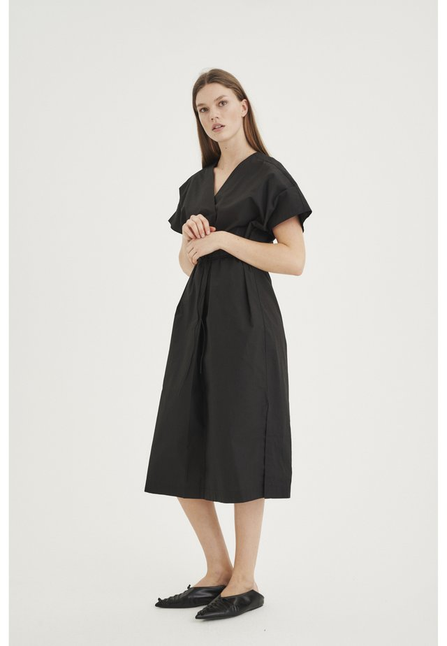 VANU KAFTAN - Korte jurk - black