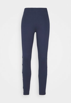 SKINNY TAPE  - Leggings - Trousers - twilight navy