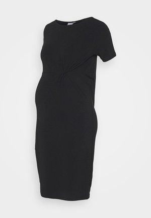 MLSIA DRESS - Žerzejové šaty - black