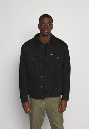 UNISEX - Veste en jean - kalmar black