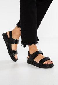 Vagabond - ERIN - Sandals - black - 0