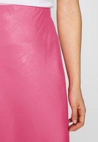 Weekday - IDA SKIRT - Jupe trapèze - bright pink - 5