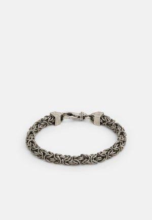 NARROW BIZANTINE CHAIN UNISEX - Armband - antique silver-coloured