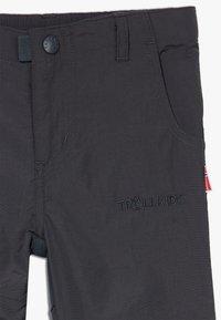 TrollKids - HAMMERFEST PRO SLIM FIT UNISEX - Outdoor trousers - dark grey - 3