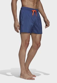 adidas Performance - SOLID TECH SWIM SHORTS - Shorts - blue - 2