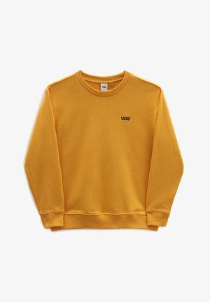 WM FLYING V BFF FT CREW - Sweatshirt - golden glow