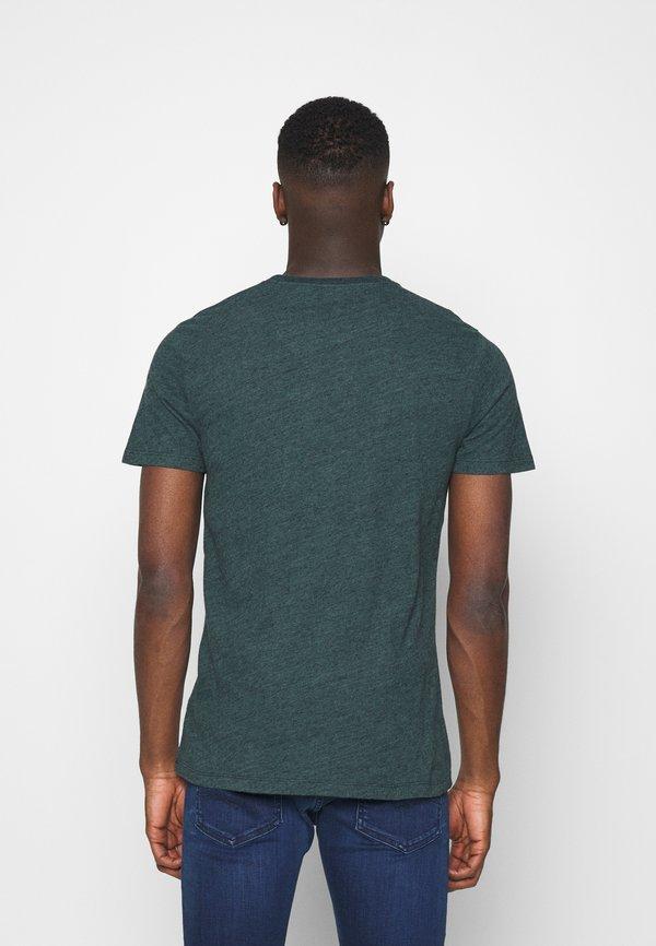 Abercrombie & Fitch ICON V-NECK 3 PACK - T-shirt z nadrukiem - red/blue/green/czerwony Odzież Męska SFDU