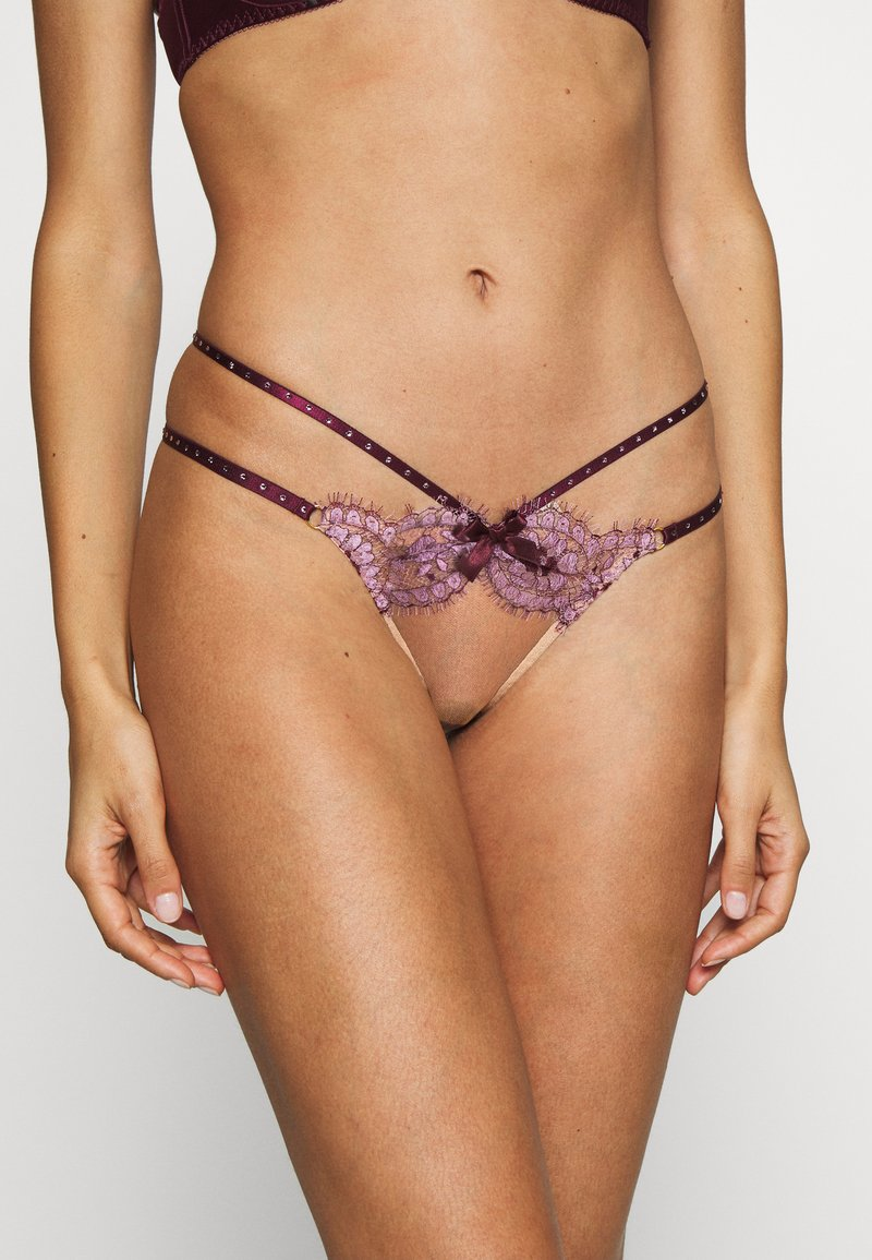 Agent Provocateur - AGNESE THONG - Thong - pink/plum