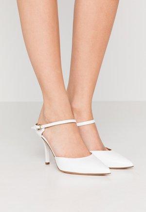 MAY  - Lodičky na vysokém podpatku - pure white