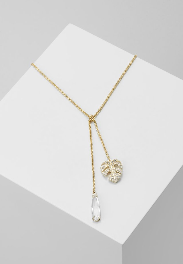 TROPICAL NECKLACE - Halsband - gold-coloured
