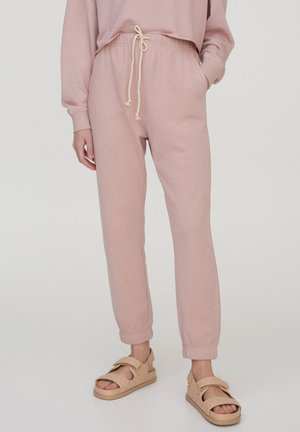 Tracksuit bottoms - rose
