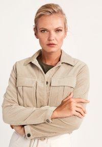 comma casual identity - Summer jacket - dark beige - 0