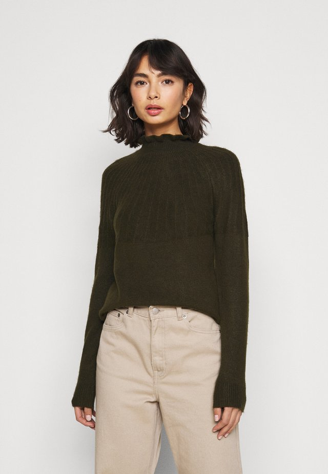 VIPRIMSI HIGHNECK  - Pullover - forest night