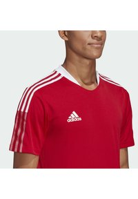 adidas Performance - TIRO 21 - Triko s potiskem - team power red - 4