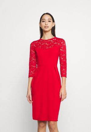 NALA DRESS - Day dress - red