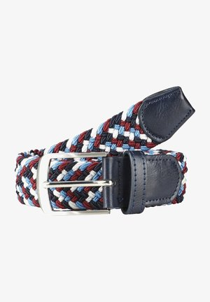 LORD EKMELEDDIN - Braided belt - blau rot