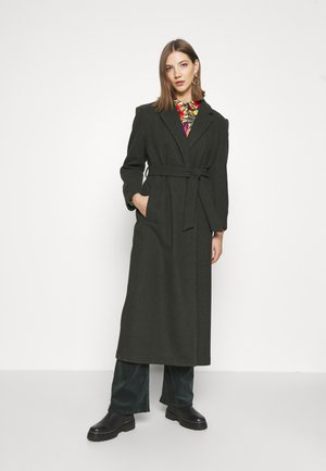 ONLTRILLION LONG BELT COATIGAN - Manteau classique - forest night