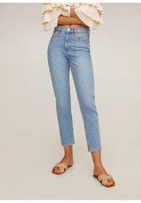 Mango - NEWMOM - Slim fit jeans - hellblau - 0