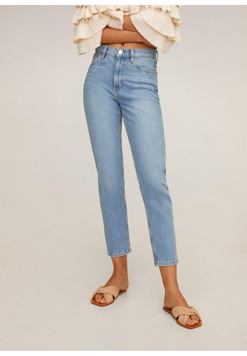 Mango - NEWMOM - Slim fit jeans - hellblau