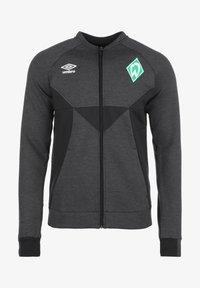 Umbro - SV WERDER BREMEN PRÄSENTATIONSJACKE HERREN - Training jacket - black marl / black - 0