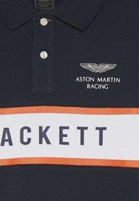 Hackett London - ASTON MARTIN RACING CHEST PANEL - Polo shirt - navy - 3