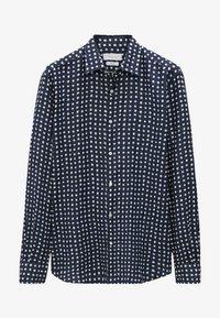 Massimo Dutti - SLIMFIT - Shirt - blue/black denim - 0