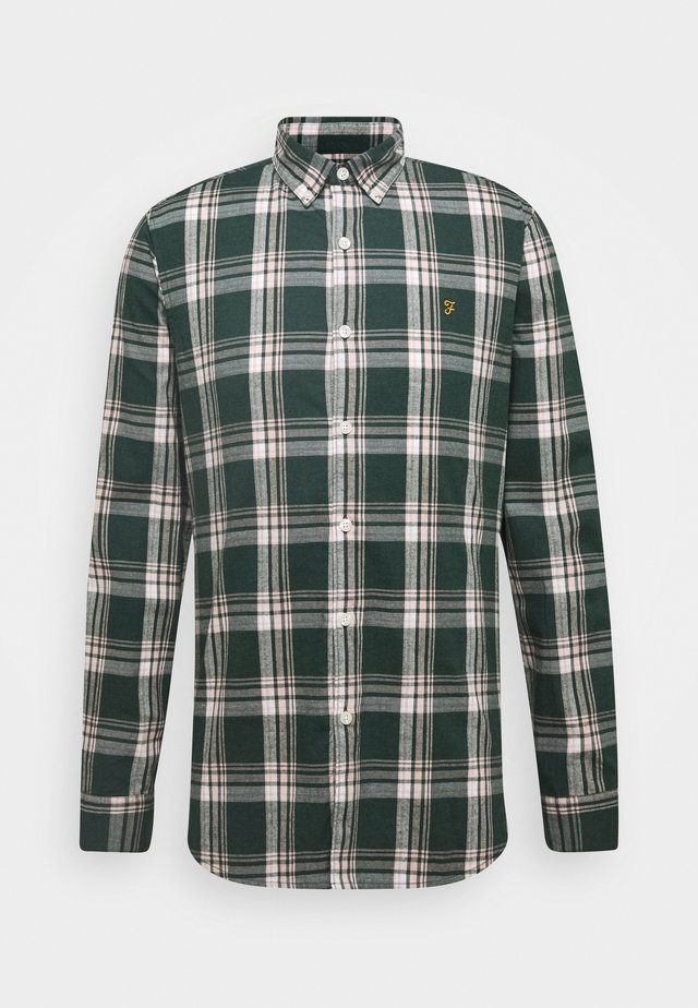 STEEN CHECK - Chemise - emerald green