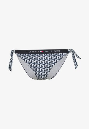 CORE SOLID CHEEKY STRING SIDE TIE - Bikini bottoms - white