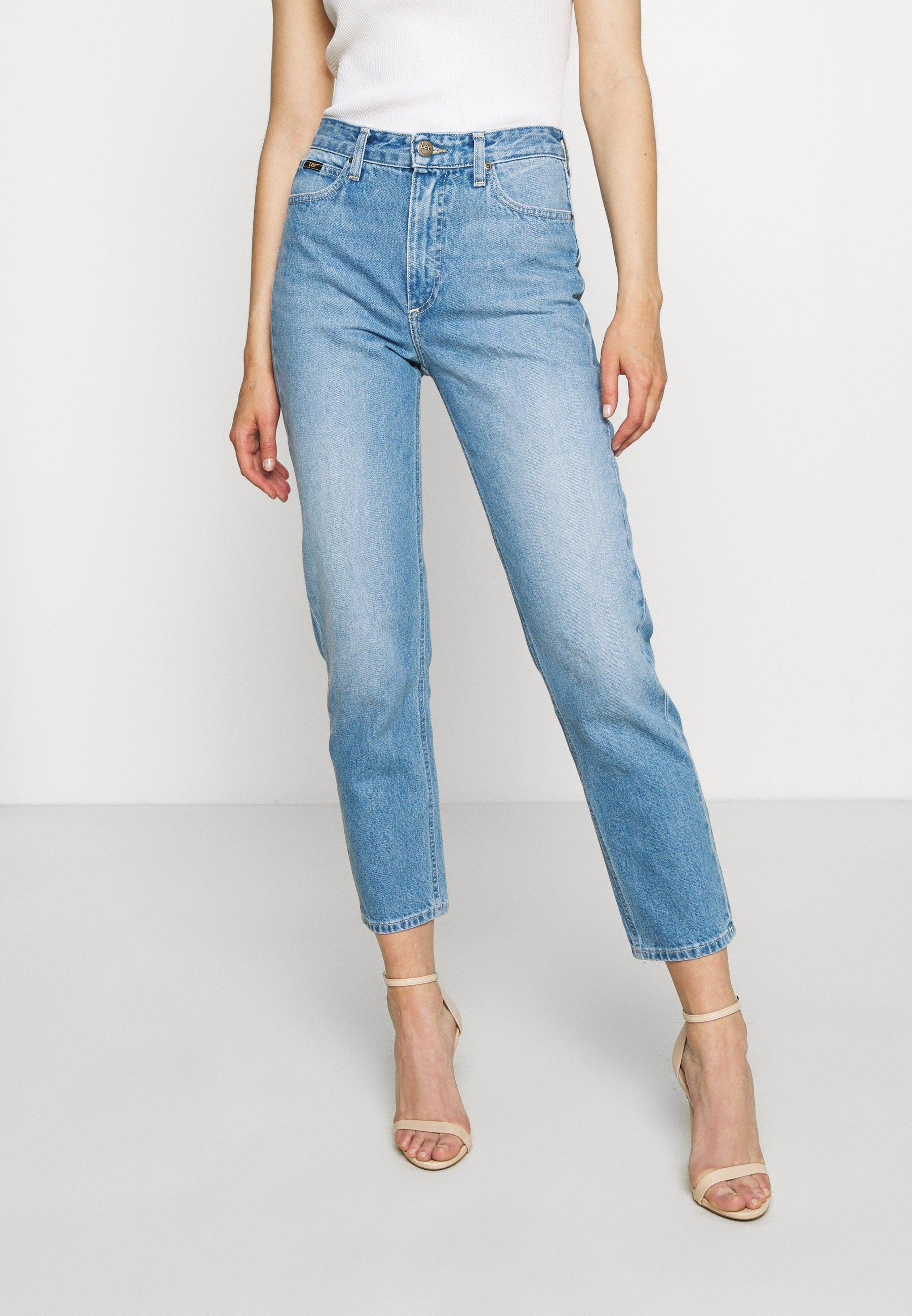 Lee Carol Jeans Sort denim | Dame | Bukser Jeans på