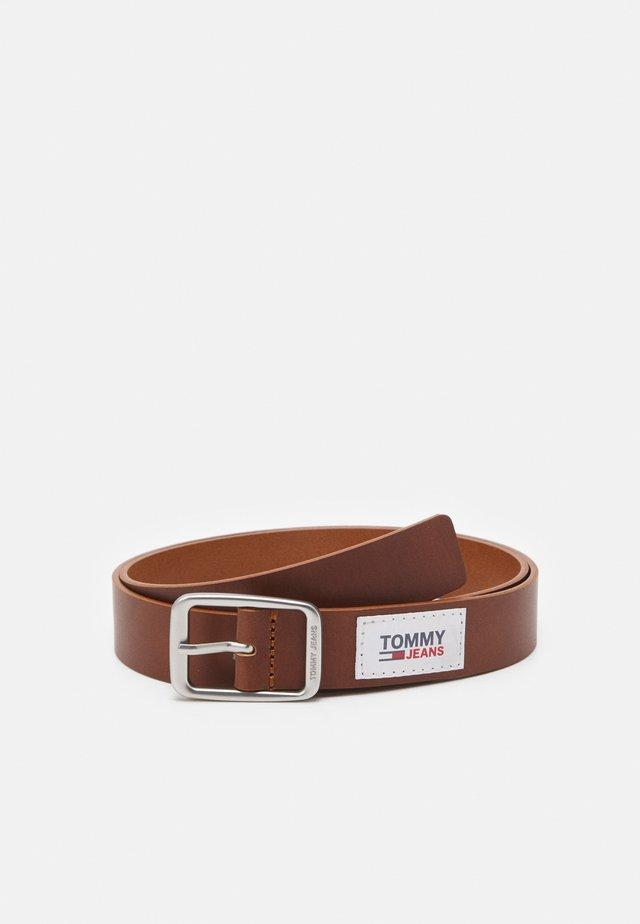 CASUAL BELT 3.0 - Pásek - brown