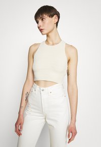 Weekday - BAY COCHET TANK - Top - white light exclusive - 0