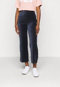 Fila Petite - BIAN CROPPED PANT - Trousers - black iris - 0