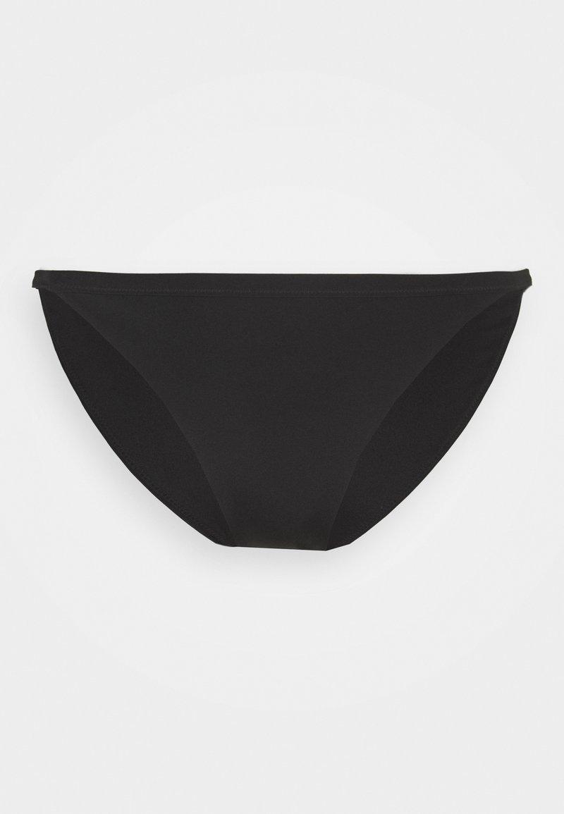 Weekday - AVA TANGA SWIM BOTTOM - Bikini bottoms - black
