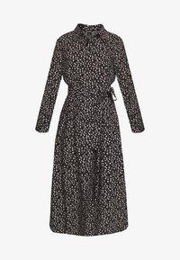 Monki - VENERA DRESS - Skjortekjole - black - 4