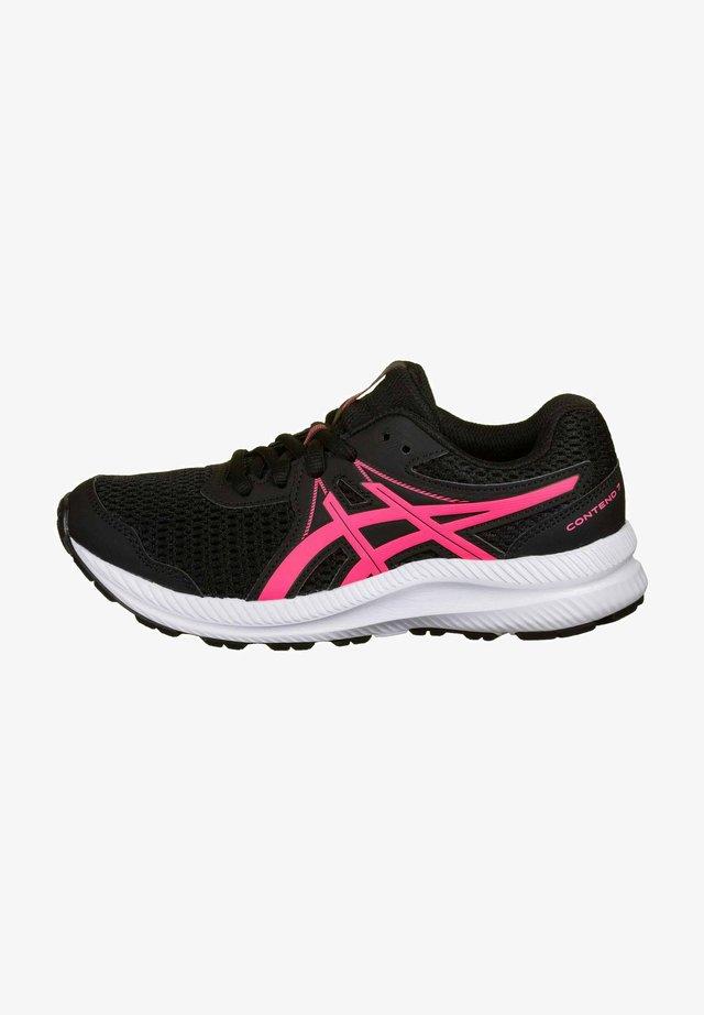 Scarpe da corsa stabili - black/hot pink
