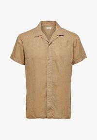 Selected Homme - SHORT SLEEVE - Shirt - safari - 5