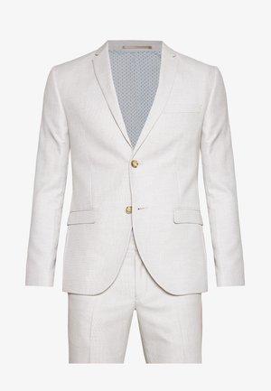 RECYCLED ECRU TEXTURE - Oblek - beige