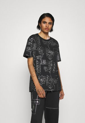 TEE ICON CLASH - Print T-shirt - black